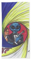 alien Bond Bath Towel