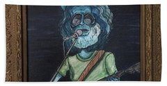 Alien Jerry Garcia Hand Towel