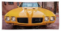All American Muscle Hand Towel
