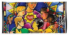 All Are Welcome - Mmaaw Hand Towel