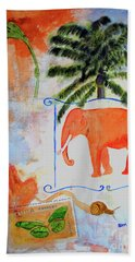 All Creatures Great And Small Bath Towel