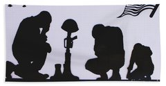 Hand Towel featuring the photograph All Gave Some And Some Gave All by Natalie Ortiz
