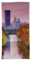 All Pittsburgh Pink  Hand Towel