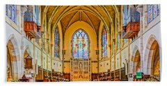 All Saints Chapel, Interior Bath Towel