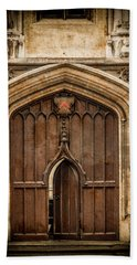 Oxford, England - All Souls Gate Hand Towel