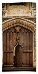 Oxford, England - All Souls Gate Bath Towel