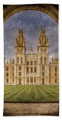 Oxford, England - All Soul's Hand Towel