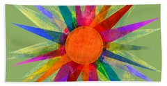 All The Colors In The Sun Bath Towel