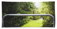 Hand Towel featuring the photograph All Things Green by Shelby Young