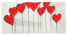 All You Need Is Love Hand Towel