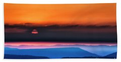 Allegheny Mountain Sunrise 2 Hand Towel