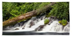 Allen Springs On The Metolius River Hand Towel