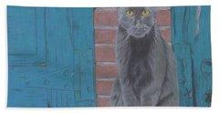Alley Cat Bath Towel