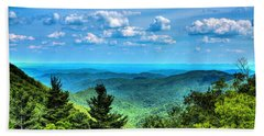 Alligator Back Overlook Hand Towel by Dale R Carlson
