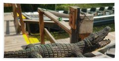 Alligator Hand Towel