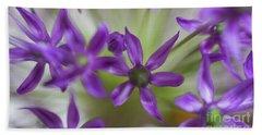 Allium Aflatunense Hand Towel