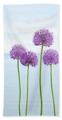 Alliums 2 Hand Towel