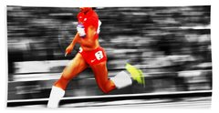 Allyson Felix In Warp Speed Bath Towel