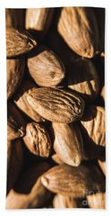 Bath Towel featuring the photograph Almond Nuts by Jorgo Photography - Wall Art Gallery