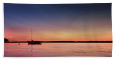 Hand Towel featuring the photograph Almost Paradise by Lori Deiter