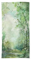 Almost There Bath Towel by Robin Miller-Bookhout