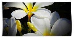 Aloha Flowers Bath Towel by Scott Cameron