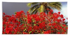 Aloha From Hawaii Botanical Garden Bath Towel