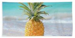 Aloha Pineapple Beach Hand Towel