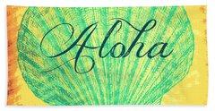 Aloha Shell Bath Towel