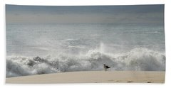 Alone - Jersey Shore Hand Towel