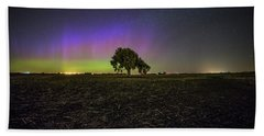 Bath Towel featuring the photograph Alone by Aaron J Groen