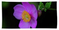 Anenome Purple Bath Towel