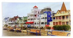 Along Beach Avenue In Cape May Hand Towel
