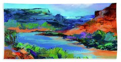 Along Colorado River - Utah Hand Towel