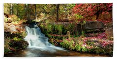 Along The Horton Trail Bath Towel by Anthony Citro