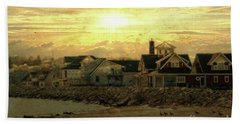 Hand Towel featuring the photograph Along The Shores by Joel Witmeyer