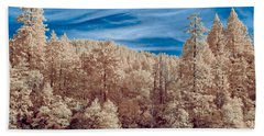 Along The Smith River In Infrared Hand Towel
