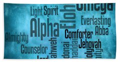Hand Towel featuring the digital art Alpha by Angelina Vick