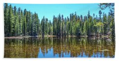 Alpine Lake - Yosemite Bath Towel