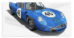 Alpine Renault A210 Bath Towel by Alain Jamar