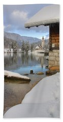 Alpine Winter Clarity Bath Towel