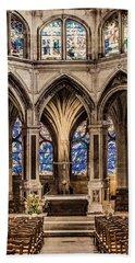 Paris, France - Altar - Saint-severin Bath Towel