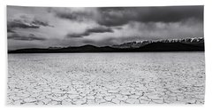 Bath Towel featuring the photograph Alvord Desert by Cat Connor