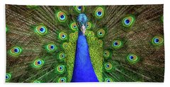Bath Towel featuring the photograph Always Colorful by Elaine Malott