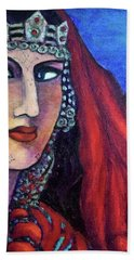 Amazigh Beauty 1 Bath Towel