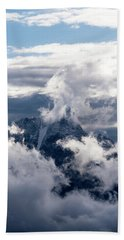 Amazing Grand Teton National Park Bath Towel by Serge Skiba