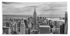 Amazing Manhattan Bw Hand Towel