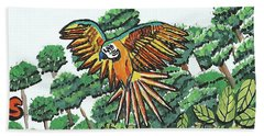 Amazon Bird Hand Towel