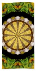 Hand Towel featuring the photograph Amazon Kaleidoscope by Debbie Stahre