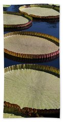 Amazonas Lily Pads II Bath Towel by Suzanne Gaff